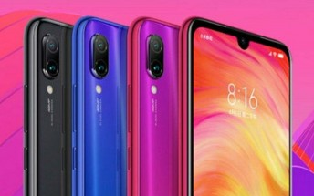 Redmi 7 appears on a leaked poster, reveals the color options