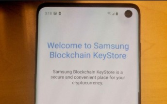 More photos of the Samsung Galaxy S10 leak revealing a crypto currency wallet