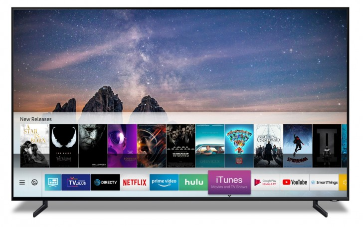 Apple and Samsung team up on iTunes for Samsung 2019 TVs