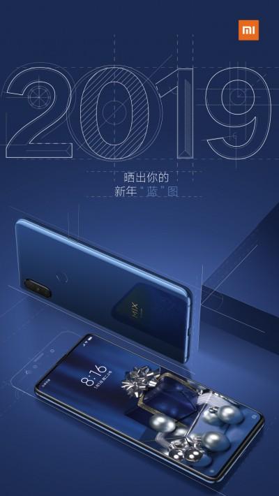 Sapphire Blue Xiaomi Mi Mix 3
