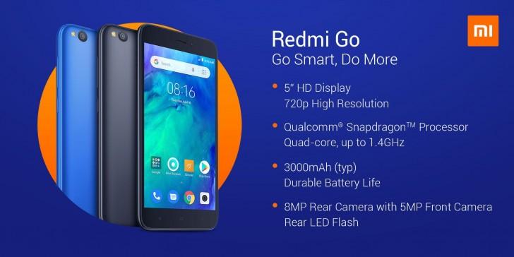 Redmi Go full features