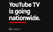 YouTube TV is now available nationwide in the US