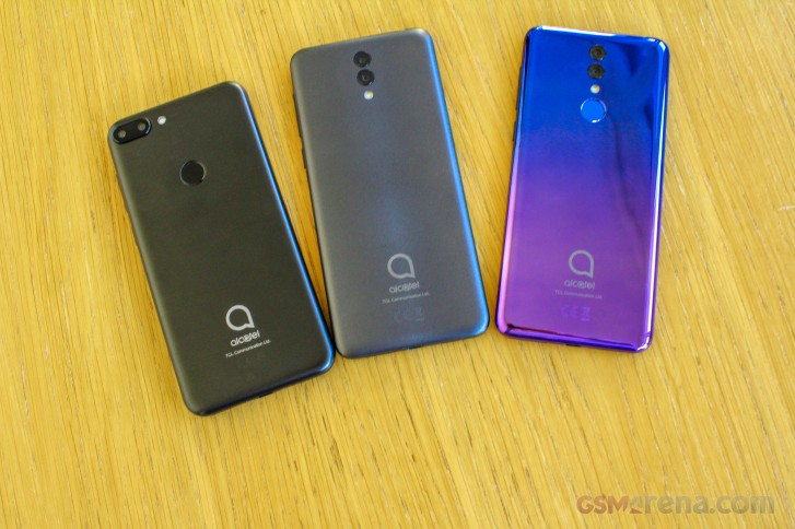 Alcatel 3, 3L, 1s hands-on review - GSMArena com news