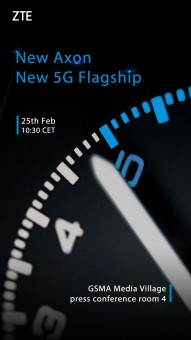 ZTE Axon with 5G connectivity is coming