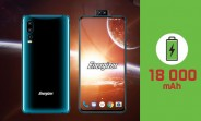 Energizer Power Max P18K Pop features an 18,000mAh battery, dual pop-up selfie cam
