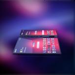 Samsung Galaxy F: side-by-side
