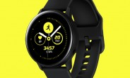 A slew of Samsung Galaxy Watch Active and Galaxy Buds images surface