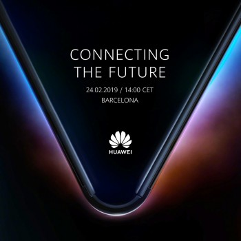 Huawei's event invite for the MWC teases its 5G-enabled foldable phone