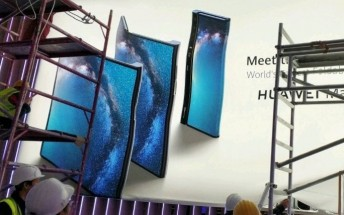 """Huawei's """"Mate X"""" foldable phone poster leaks"""
