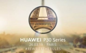 Watch the Huawei P30 and P30 Pro announcement live here