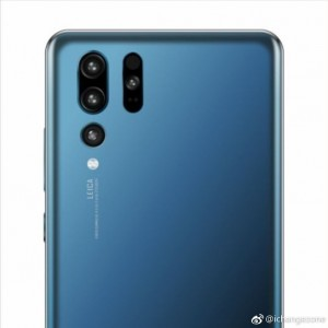 Huawei P30 Pro speculative render