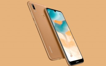 Huawei Y6 2019 goes official with Helio A22 SoC and 6.09-inch waterdrop display