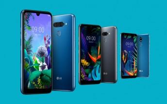 LG Q60, K50 and K40 midrangers announced