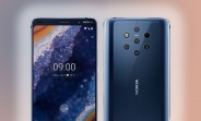 Nokia 9 PureView official renders leak