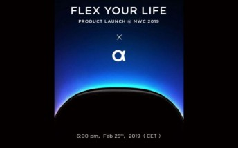 Nubia MWC event invites go out for a flexible product announcement