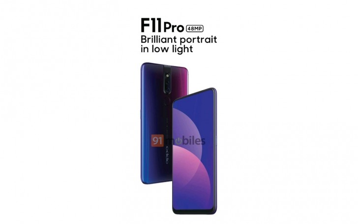 First Oppo F11 Pro render confirms camera setup and full-screen design