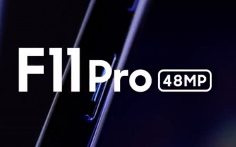 Oppo teases F11 Pro with 48 MP camera