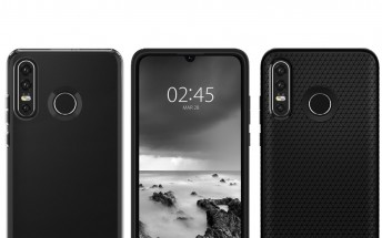 Huawei P30 Lite's design leaks through case renders, triple rear camera confirmed