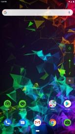 Screenshots of the update