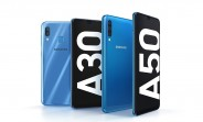 Samsung Galaxy A50 and Galaxy A30 are official with big screens and batteries