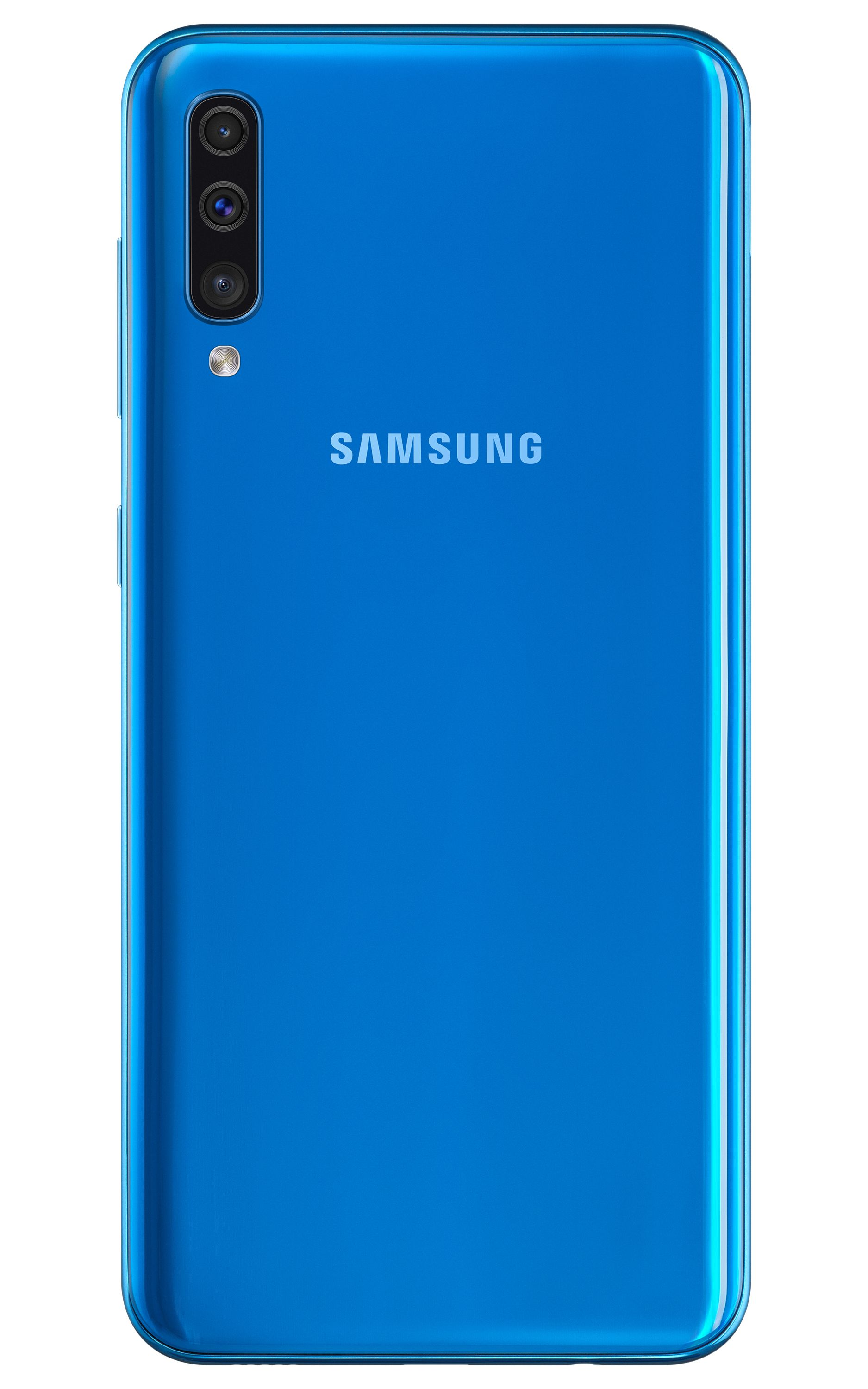 Samsung Galaxy A50 in Blue,