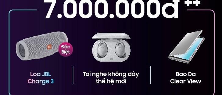 Samsung Vietnam confirms free Galaxy Buds with Galaxy S10 pre-order