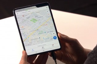 The large screen makes for a tablet-like experience (but note the notch)