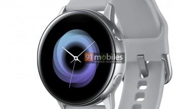 Samsung Galaxy Sport watch image reveals the design