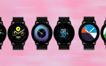 Samsung Galaxy Watch Active running One UI shown in new images