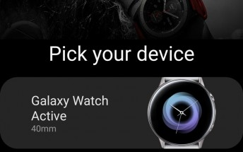 Samsung's new wearables leak on Samsung's own app