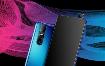 The vivo V15 Pro has a 32MP pop-up selfie camera and 48MP triple rear camera