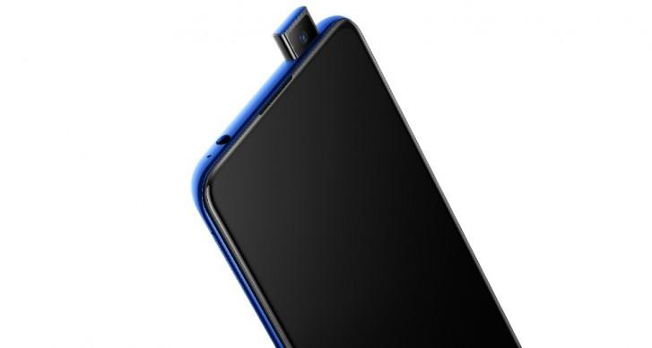 The vivo V15 Pro has a 32MP pop-up selfie camera and 48MP triple rear camera