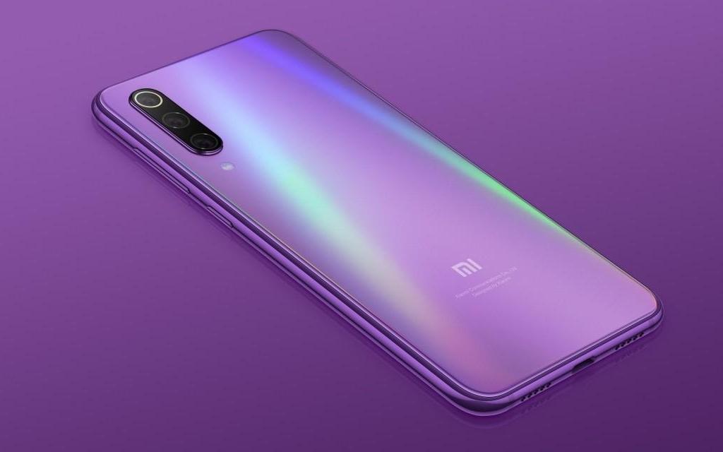 Xiaomi Mi 9 SE in Violet
