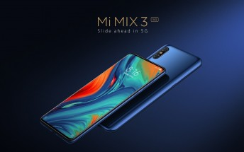 Xiaomi Mi Mix 3 5G comes with Snapdragon 855 for €599