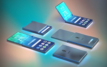 ZTE patent shows vertically foldable smartphone in the works