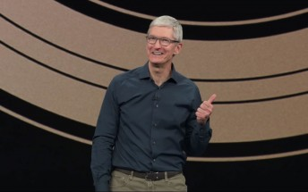 """Tim Cook says Apple is """"rolling the dice"""" on products that will """"blow you away"""""""