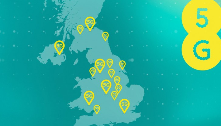 EE will switch on its 5G network on 30 May