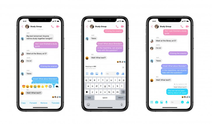 Facebook Messenger is getting swipe-to-quote replies