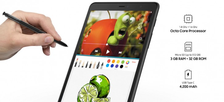 Samsung Galaxy Tab A 8 0 (2019) with S Pen quietly unveiled