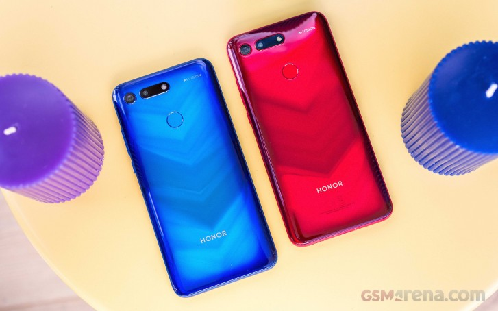 Honor 20 Renders Online with Triple Rear Cameras & in-display Fingerprint Sensor