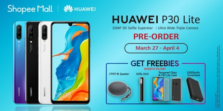 Triple-cam Huawei P30 Lite arrives for pre-order in the Philippines