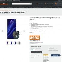Huawei P30 Pro leaks like a faulty faucet
