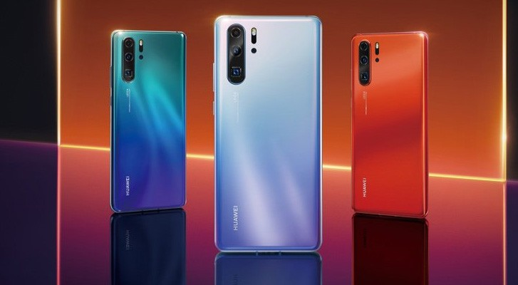 Huawei P30 debuts with triple camera, 6.1
