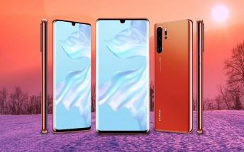 Huawei P30 handled on video