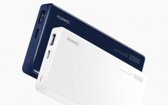 Huawei introduces 12,000 mAh power bank with two-way 40W SuperCharge