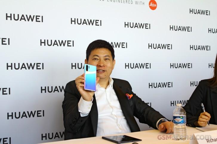 Interview: Huawei CEO, Richard Yu talks P30 cameras, folding phones