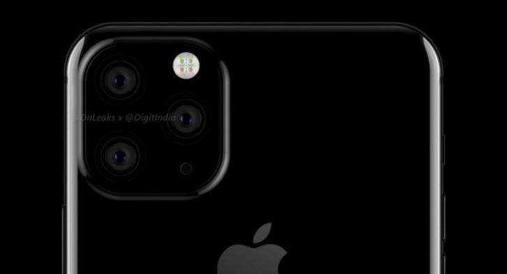 Tampak pengaturan kamera iPhone 11.