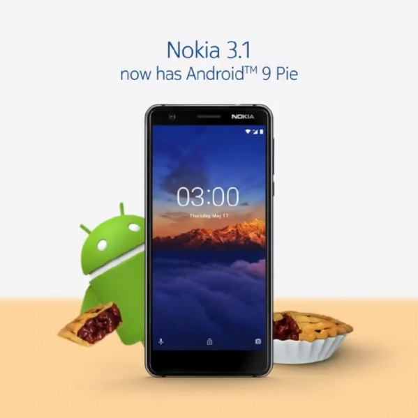 Nokia 3 1 gets Android Pie update - GSMArena com news