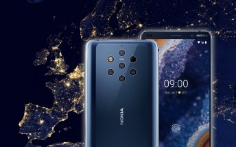 Nokia 9 PureView units in Europe will start shipping on March 15