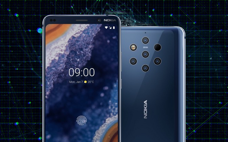 HMD is working on fixes for the Nokia 9 PureView camera, in-display